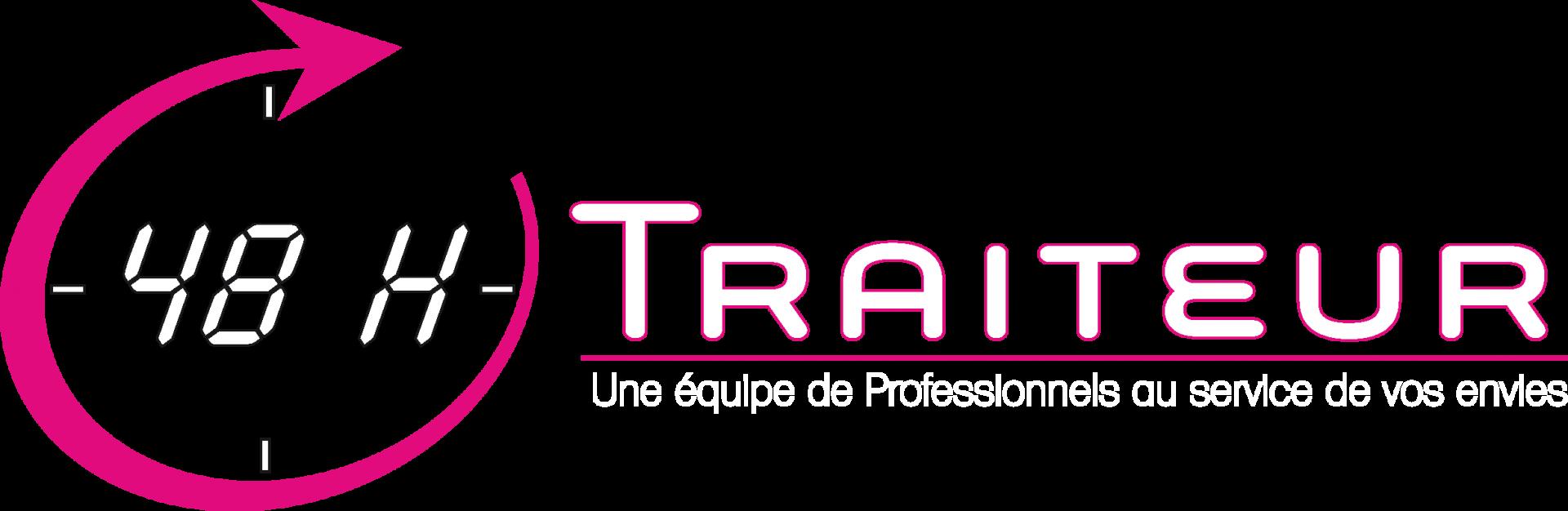 Logo 48h traiteur vectorise 2 1